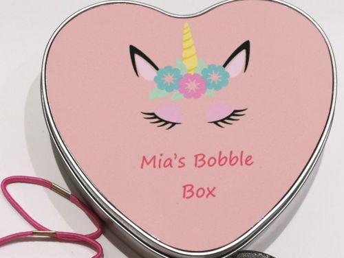 Personalised Unicorn Bobble Box