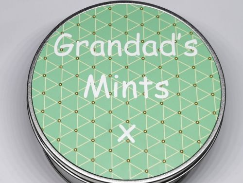 Personalised Mint Tin