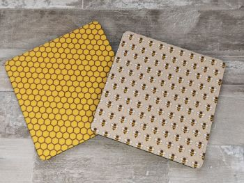 Honey Bee Coaster Sets Available In Sets Of 4,6