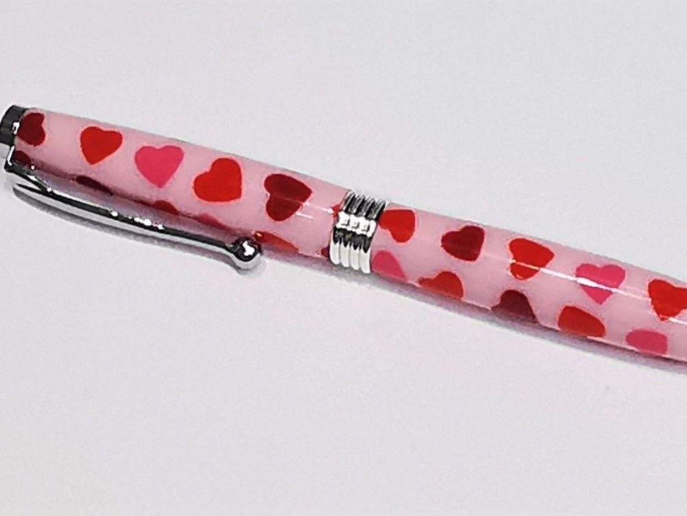 Handmade Heart Ballpoint Pen