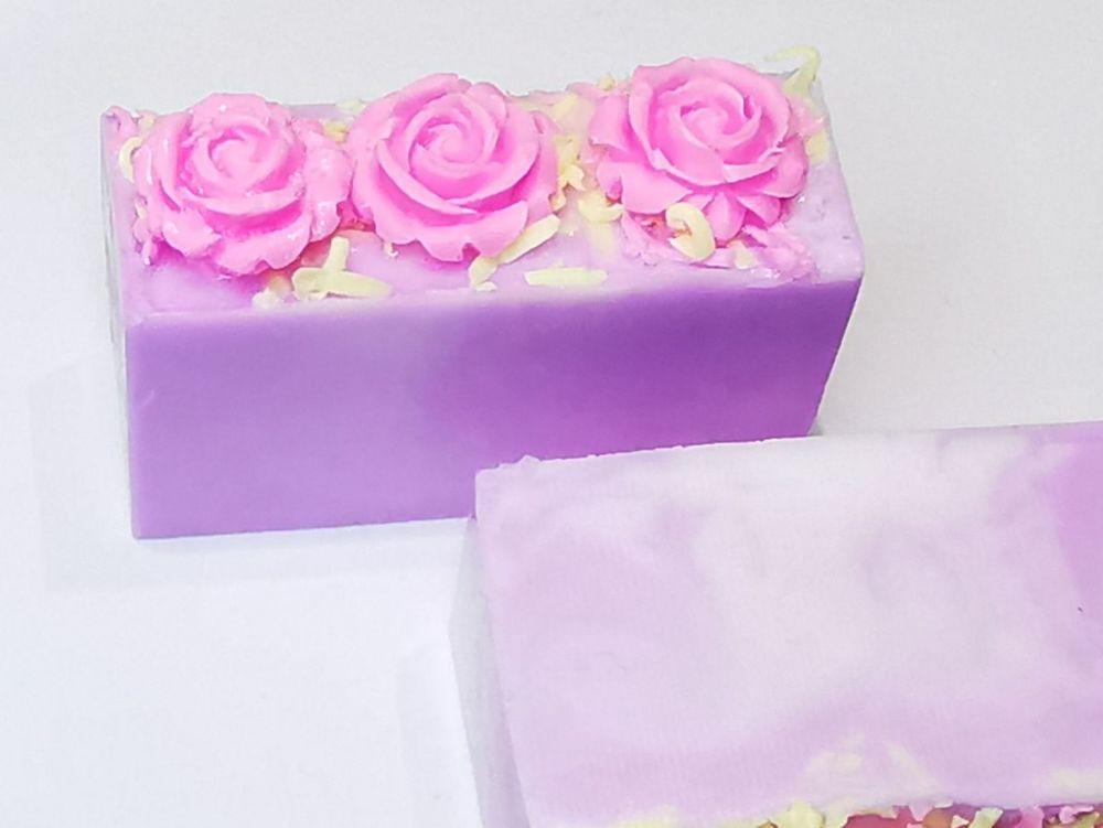 Prosecco Raspberry Rose Soap