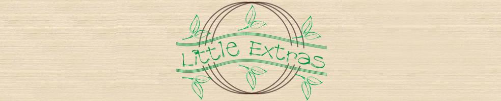 Little Extras, site logo.