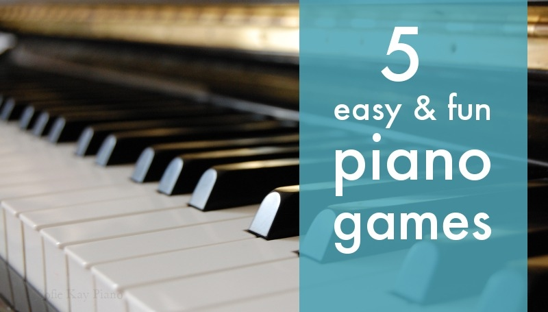 5 fun & easy piano games