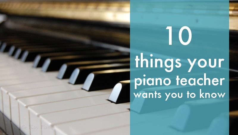 10 things we want you to know