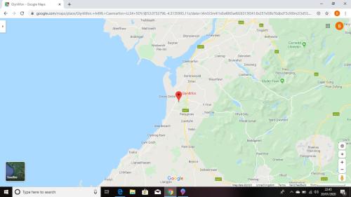 Glynllifon map