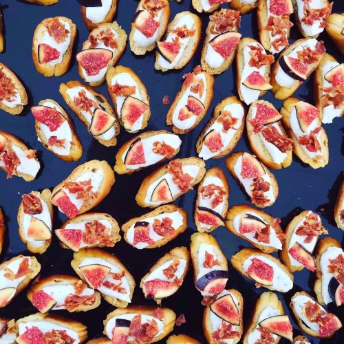 Fig &n Parma Ham Crostinis