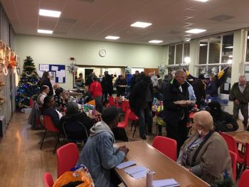 Woolwich Common Community Centre Christmas Homeless Event 2017 (6)