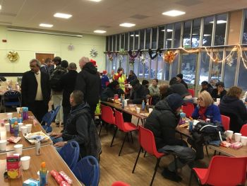 Woolwich Common Community Centre Christmas Homeless Event 2017 (8)