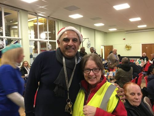 Woolwich Common Community Centre Christmas Homeless Event 2017 (9)
