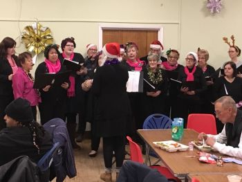 Woolwich Common Community Centre Christmas Homeless Event 2017 (10)