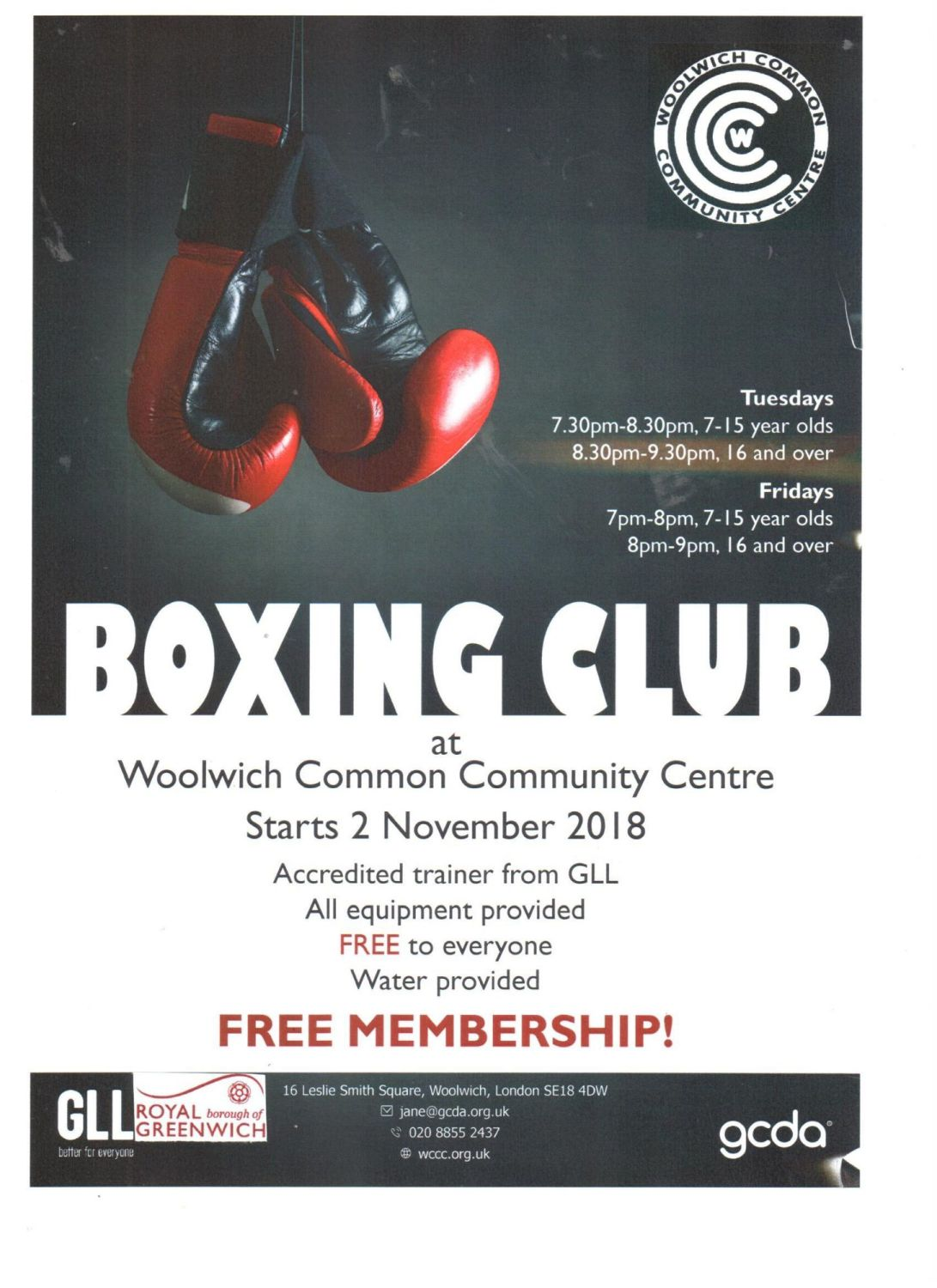 boxing poster new