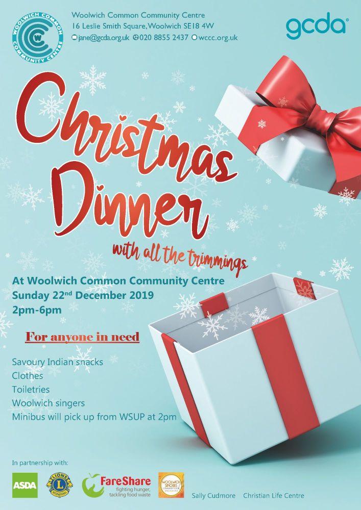 Christmas Flyer 2019 homeless