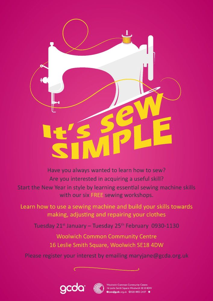 Its Sew Simple Poster2