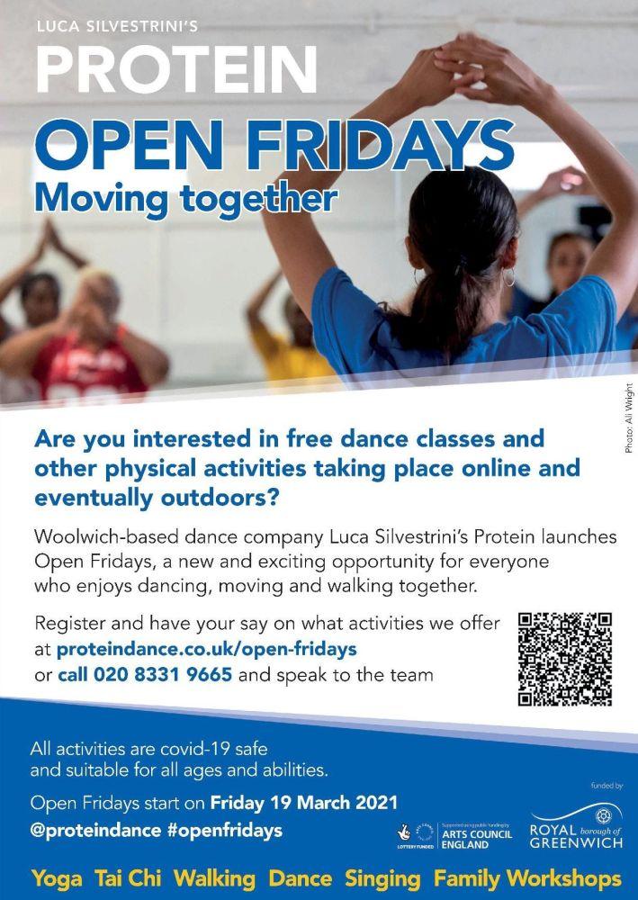 Protein Open Fridays E-Flyer