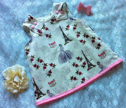 Paris Bebe Pinafore Dress - Babies