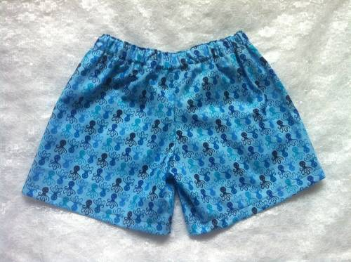 Octopus shorts 4-5 years