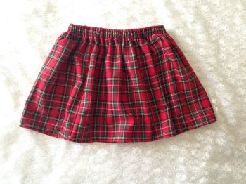 Check plaid Tartan Royal Steward Skirt