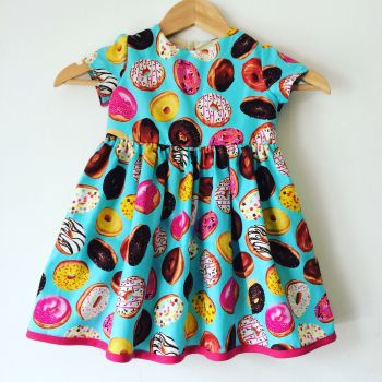Donut dress, girls dresses, novelty, donuts, sweet treats