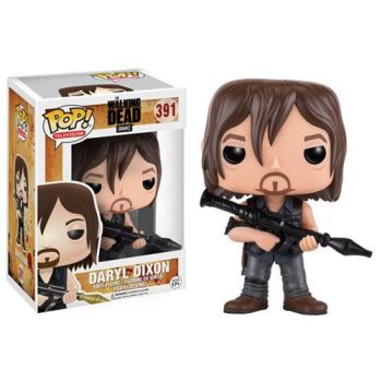 Walking Dead Daryl with Rocket Launcher Pop! Vinyl Figure
