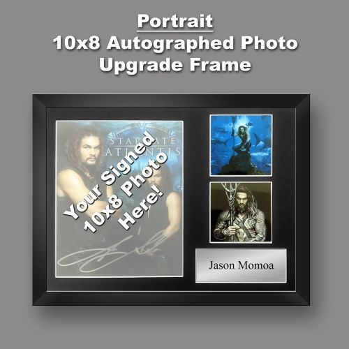 Autograph Upgrade Frame Portrait