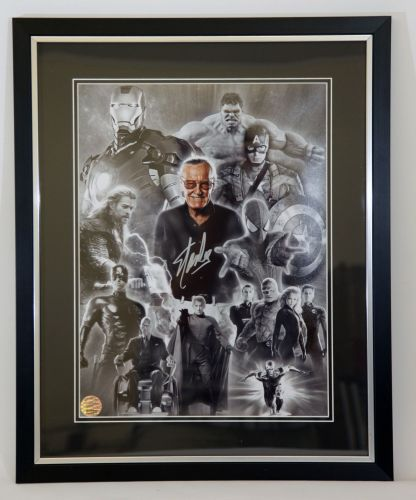 12x16 Black and silver frame