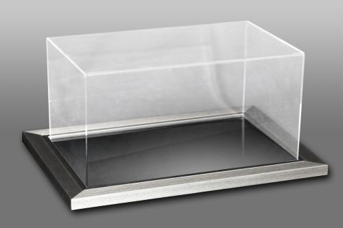 Acrylic Case With A frame Silver Mirror base.