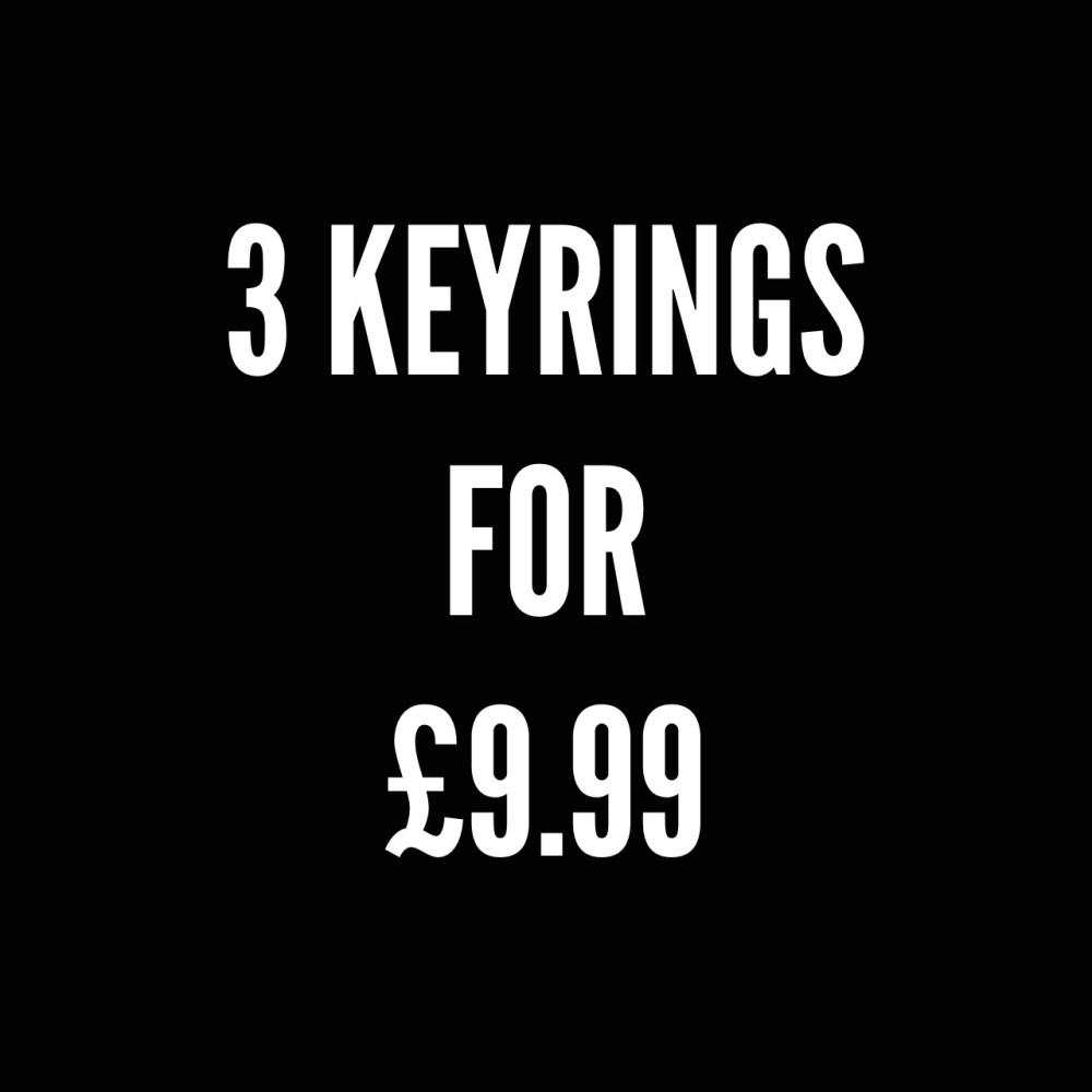 3 keyrings offer