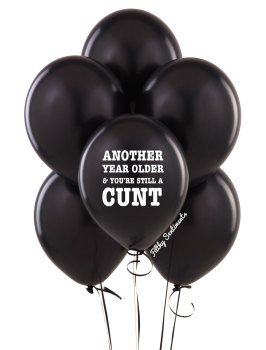 Another year older balloons (Pack of 5)