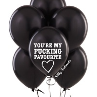 You're my fucking favourite balloons (Pack of 5) C00018