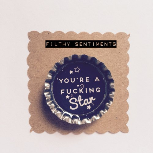 You're a star fridge magnet