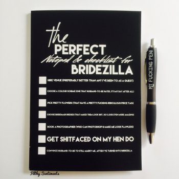 Bridezilla notebook