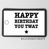 Mixed Birthday Gift tags - Pack of 10