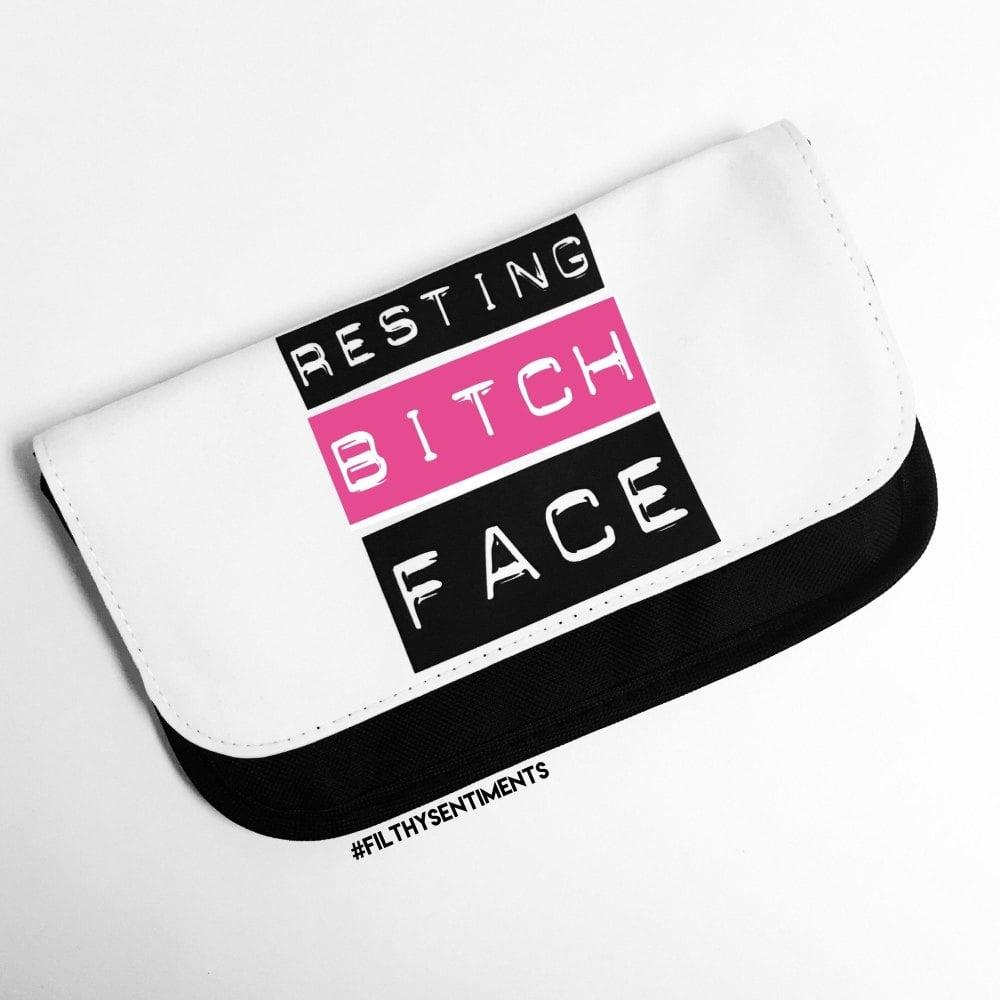 Resting Bitch Face Make up bag