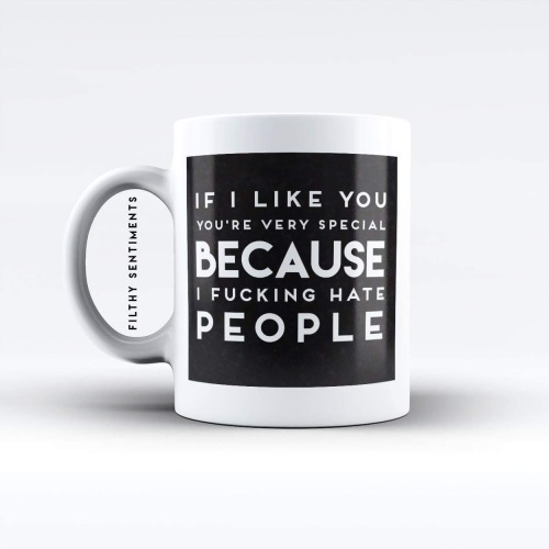 If i like you, you're special mug - M018SPECIAL