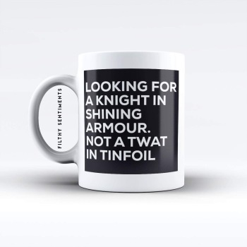 Knight in shining armour mug  - M021KNIGHT