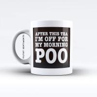 Morning Poo TEA mug - M027POOTEA