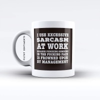 Sarcasm mug - M037SARCASM
