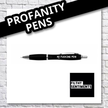My fucking pen
