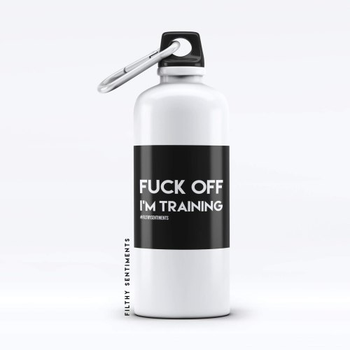 Water Bottle Everyone knows someone Personalised Insult - WB058TRAINING