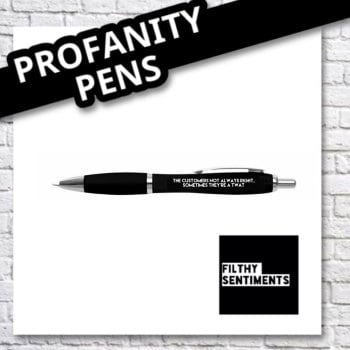 The customer pen