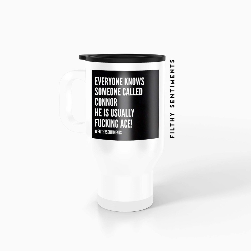 Everyone knows someone Personalised Insult Travel mug - TM001EOK