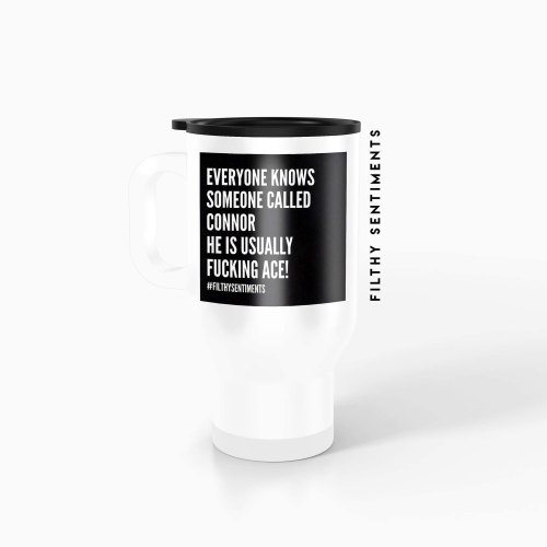 Everyone knows someone Personalised Insult Travel mug - TM001EOK