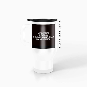 Travel mug - My hobbies TM028HOBBY
