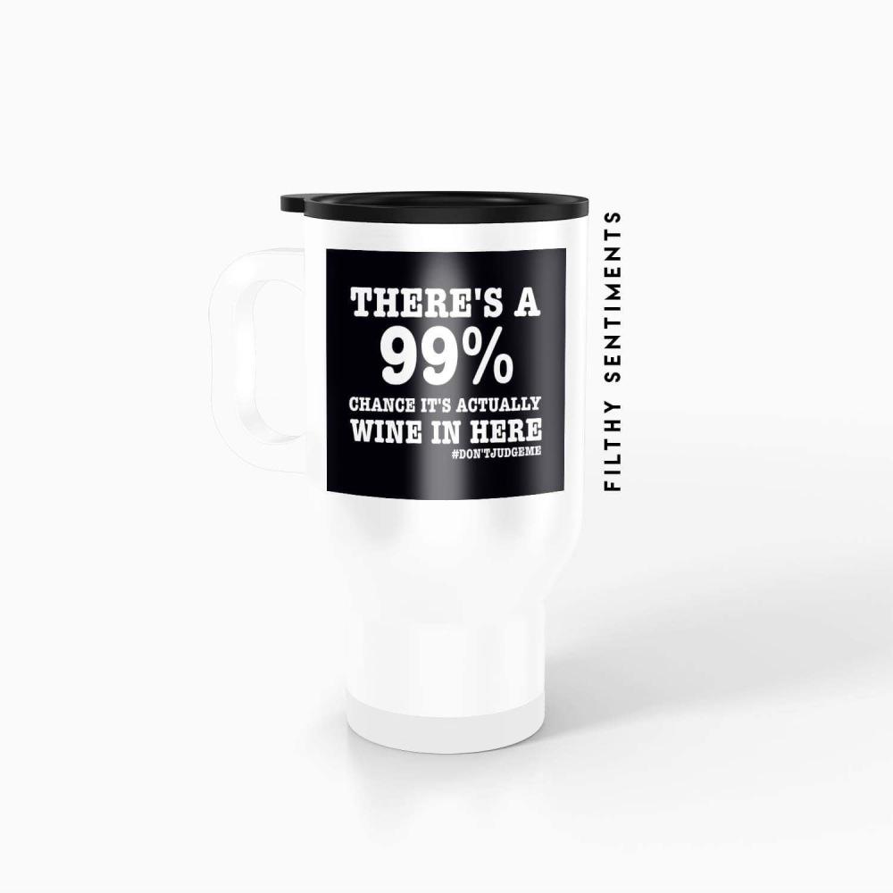 Travel mug 99% wine - TM001WINE99