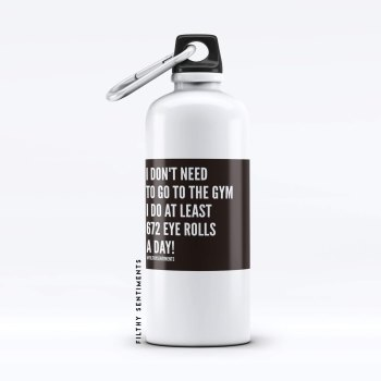 Water bottle EYEROLL - WB504EYEROLL