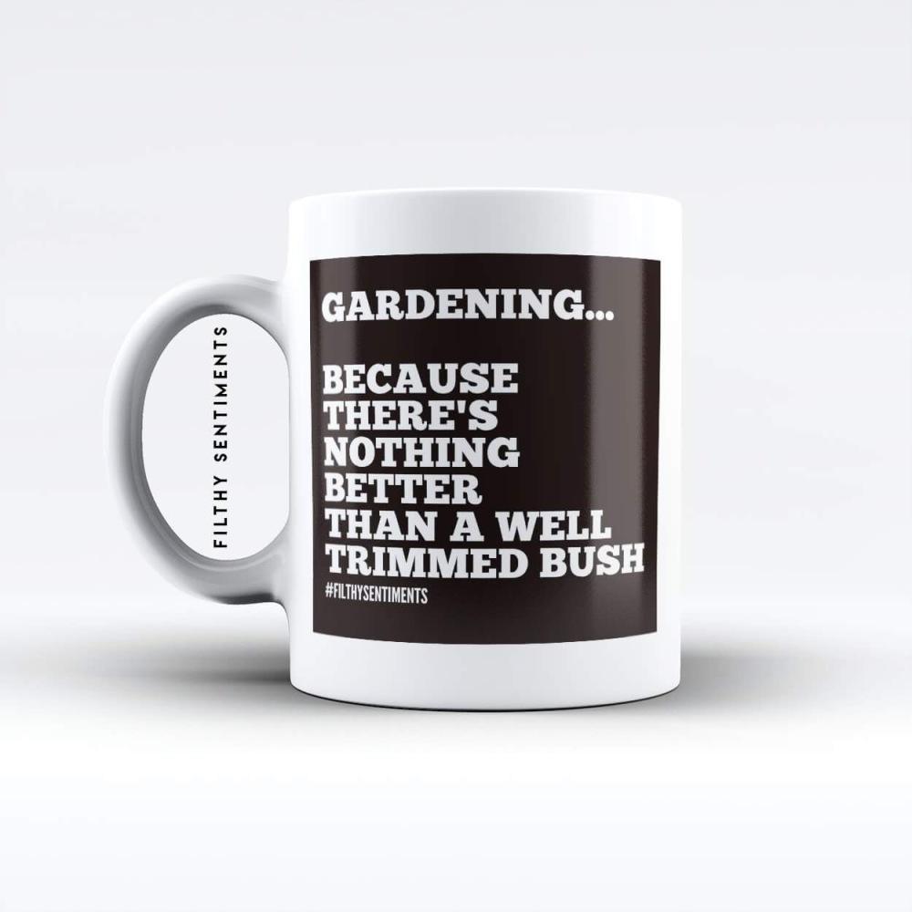 Gardening mug - M061GARDENING