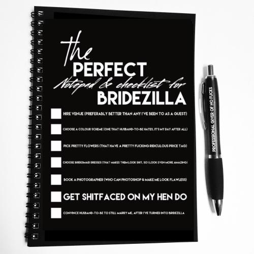 Wiro Notebook - Bridezilla checklist (pre order)