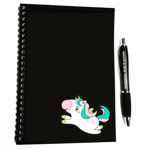 Wiro Notebook - Unicorn Cunt (Pre Order)
