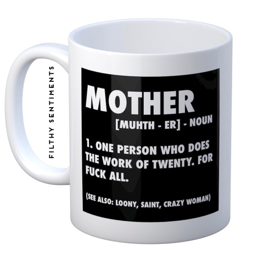 Mum Noun mug - M064