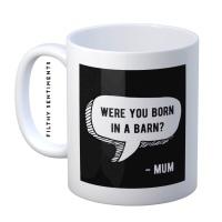 Mum barn mug - M068